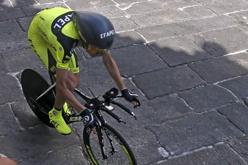 Cycling prologue of the 77th Tour de Portugal 2015