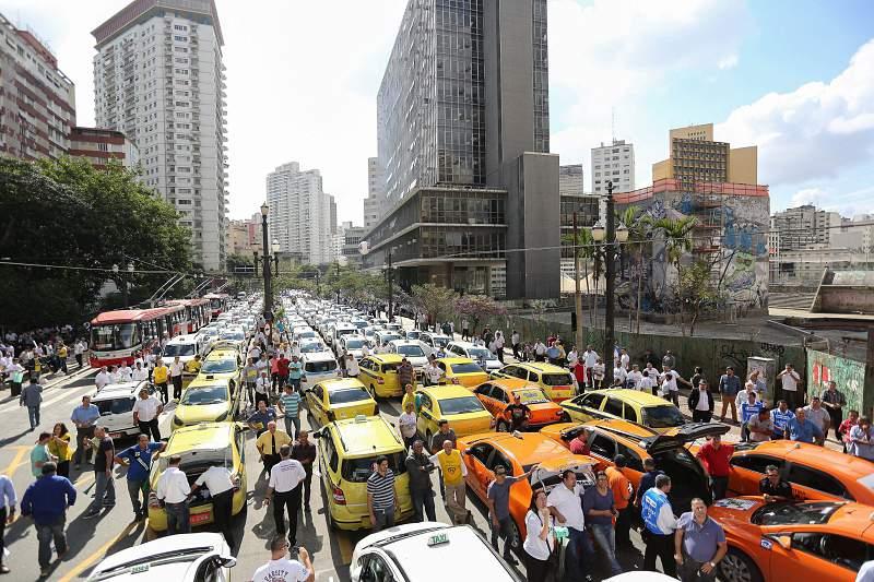 Taxistas São Paulo