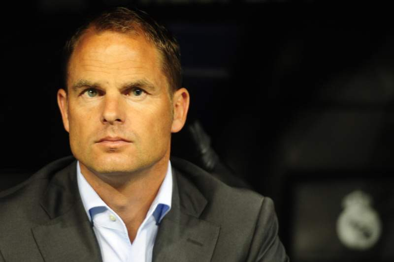 Ajax Amsterdam?s coach Frank De Boer is pictured during the Champions League football match between Real Madrid and Ajax at the Santiago Bernabeu stadium in Madrid on September 27, 2011. AFP PHOTO/JAVIER SORIANO