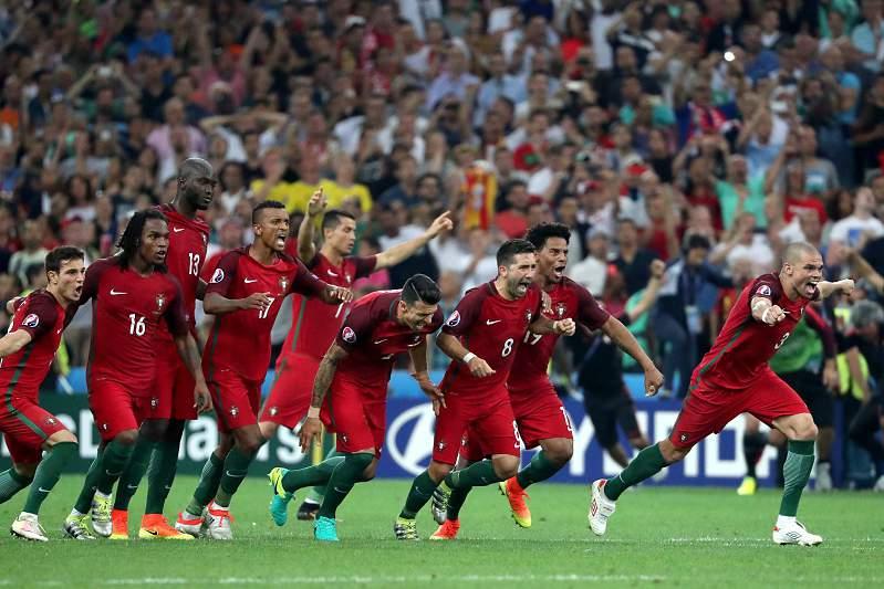 Portugal festeja passagem às meias-finais do Euro2016