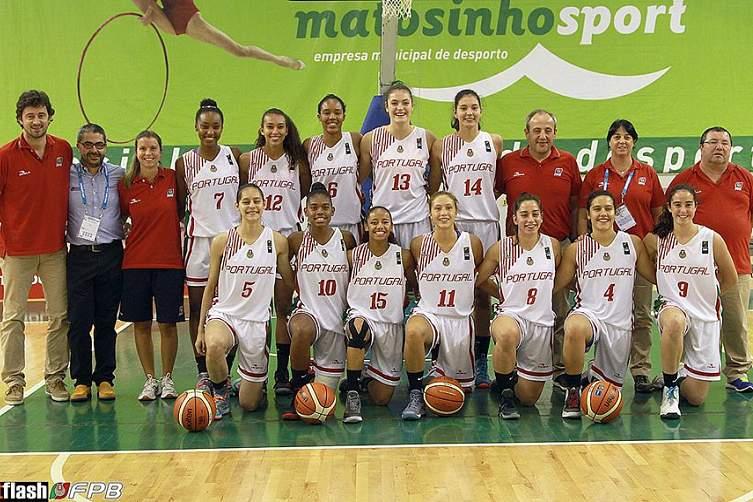 Seleção portuguesa de basquetebol feminino sub-16
