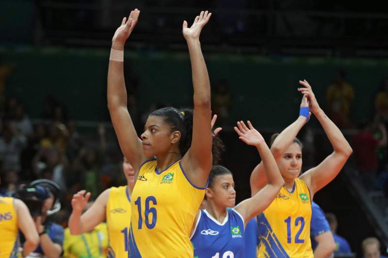 Brasil voleibol feminino Rio2016