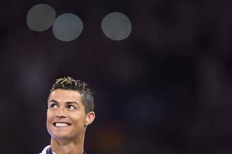 Cristiano Ronaldo, jogador do Real Madrid