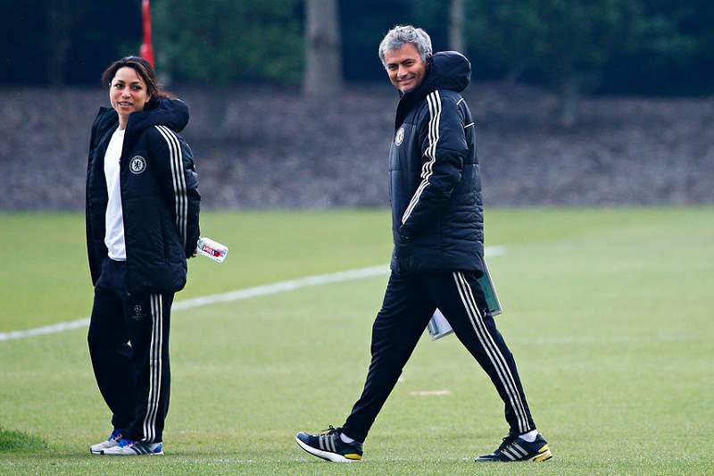 Eva Carneiro e Mourinho