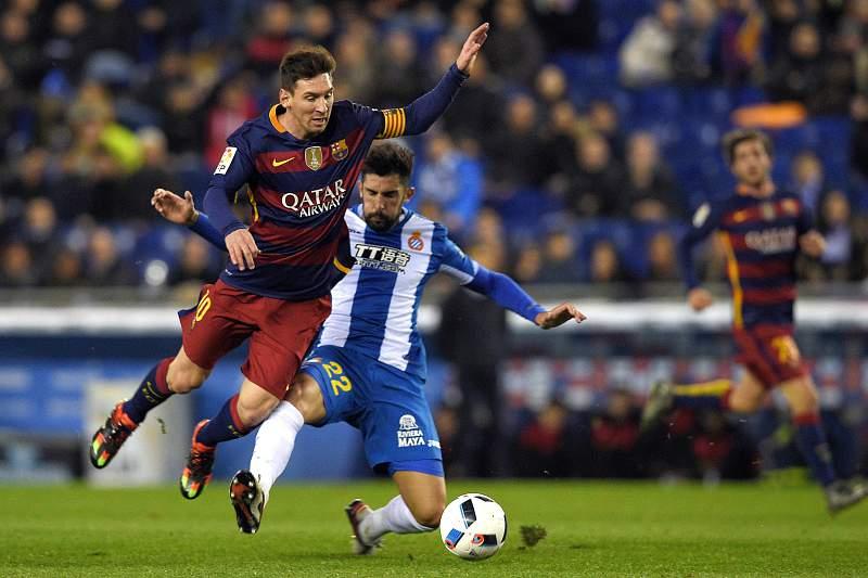 Lionel Messi e Álvaro González