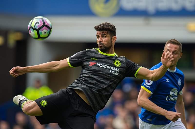 Diego Costa Chelsea Everton