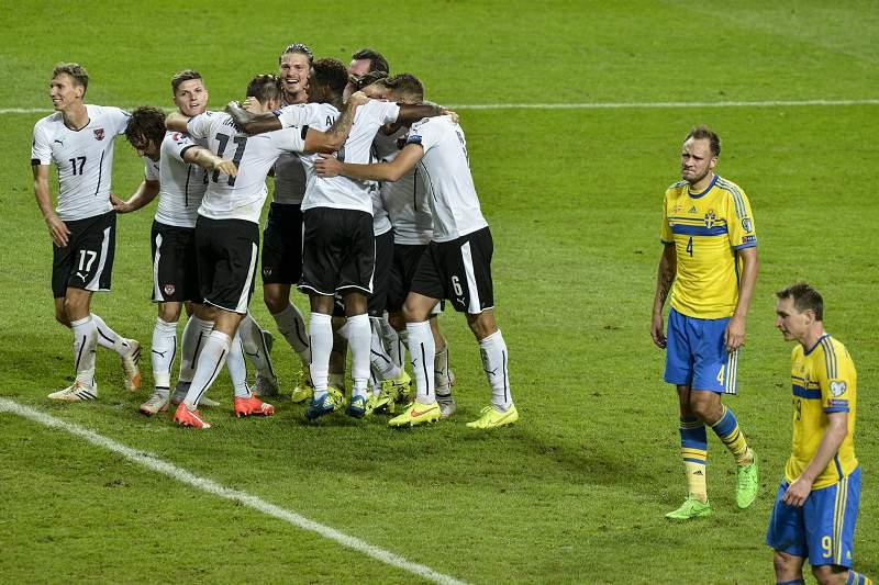 Suécia perde 4-1 em casa frente a Áustria