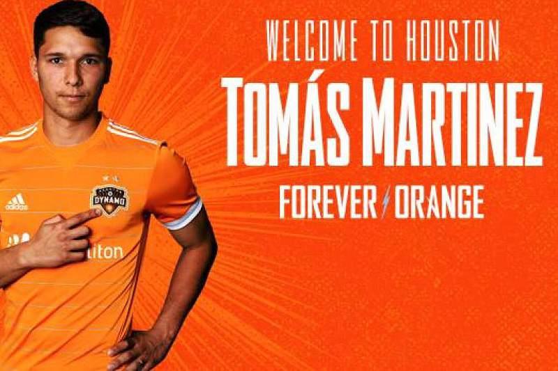 SC Braga vende argentino Tomás Martínez aos Houston Dynamo