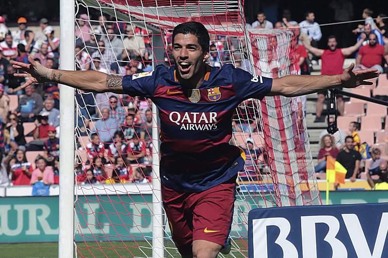Luís Suarez fez 'hat-trick' diante do Granada