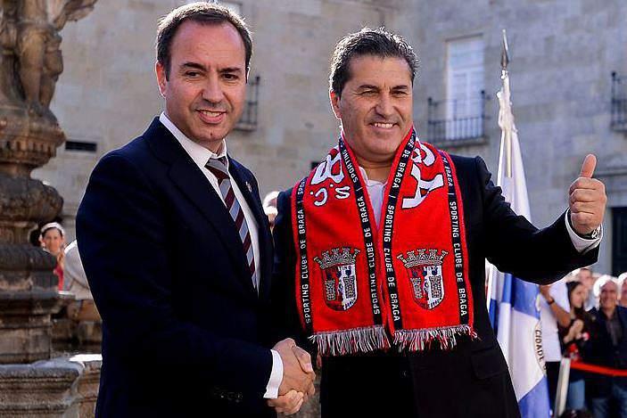 Peseiro vai ser o novo ´comandante` do SC Braga