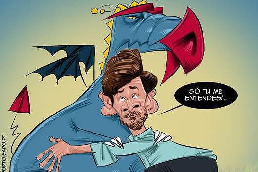 Os memes do Zenit-Benfica 'gozaram' principalmente com Villas-Boas e Jorge Jesus