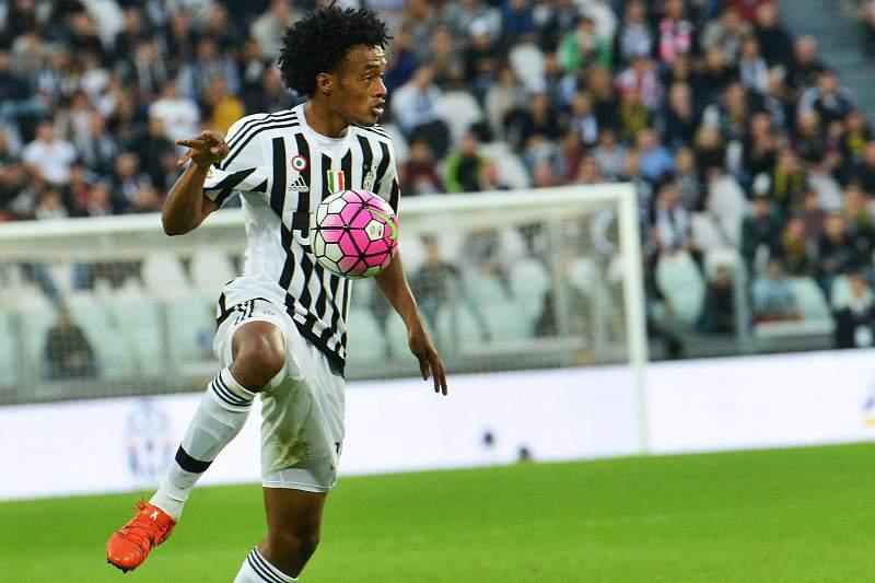 Juan Cuadrado em ação pela Juventus