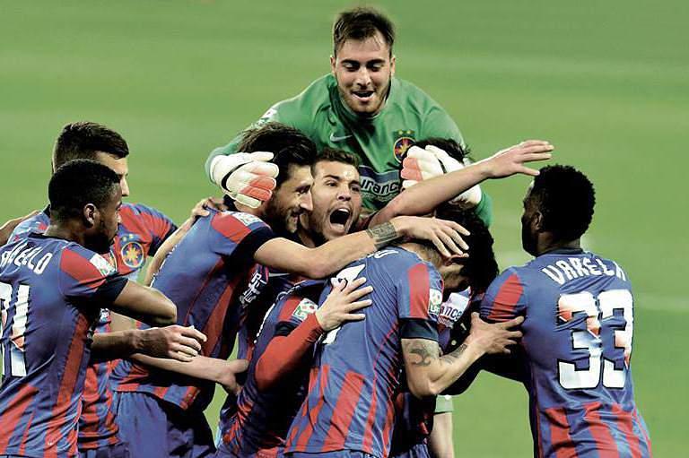 Steaua de Bucareste campeão da Roménia pela 26.ª vez