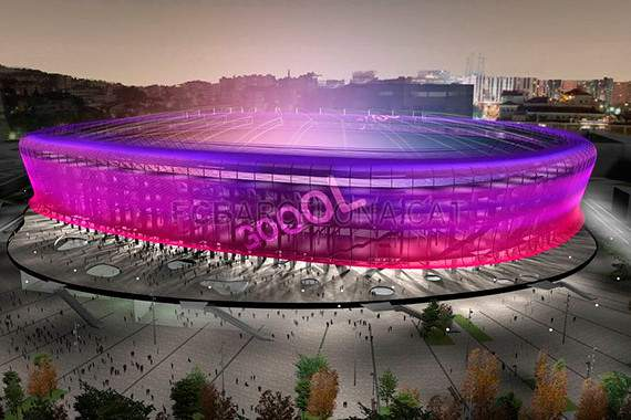 O futuro estádio do Barcelona