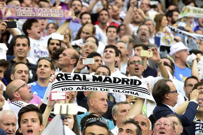 Adeptos Real Madrid