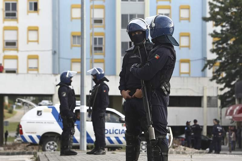 Agentes da Polícia de Segurança Pública (PSP)