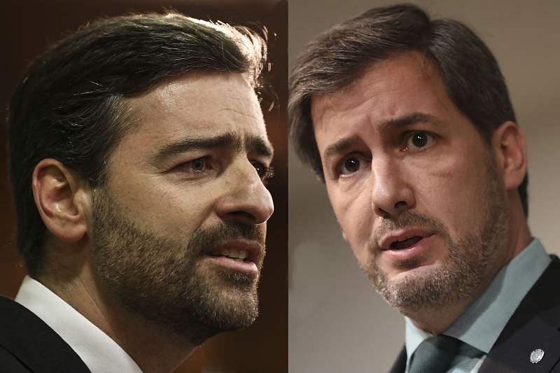 Pedro Madeira Rodrigues e Bruno de Carvalho