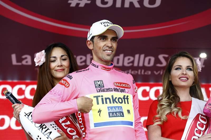 Alberto Contador sobe à liderança do Giro