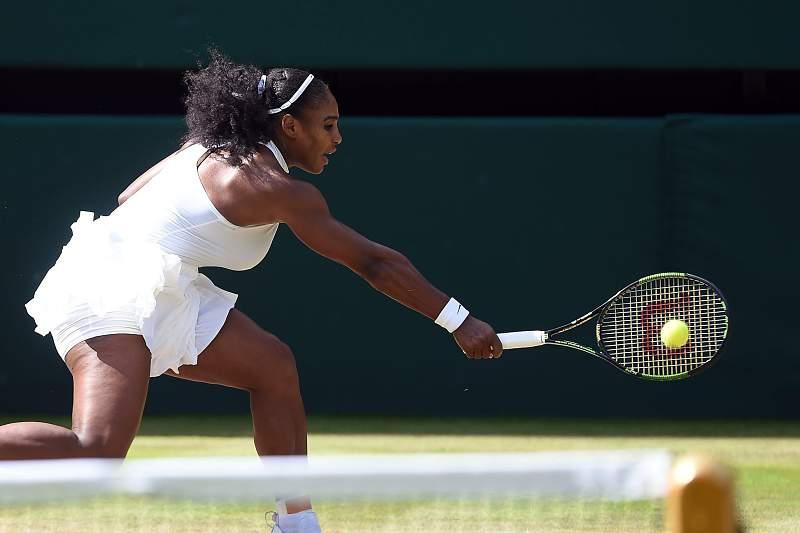 Serena Williams no Wimbledon 2016