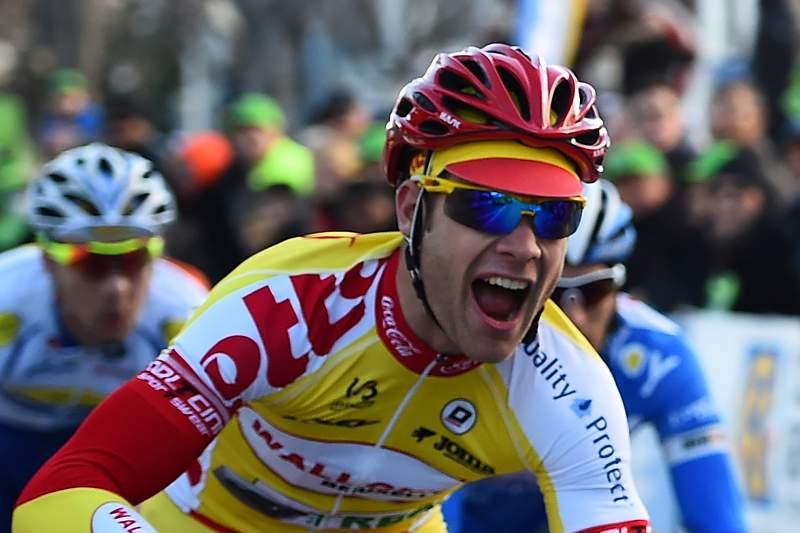 Antoine Demoitié em ação na 36ª edição do Grand Prix de Marselha