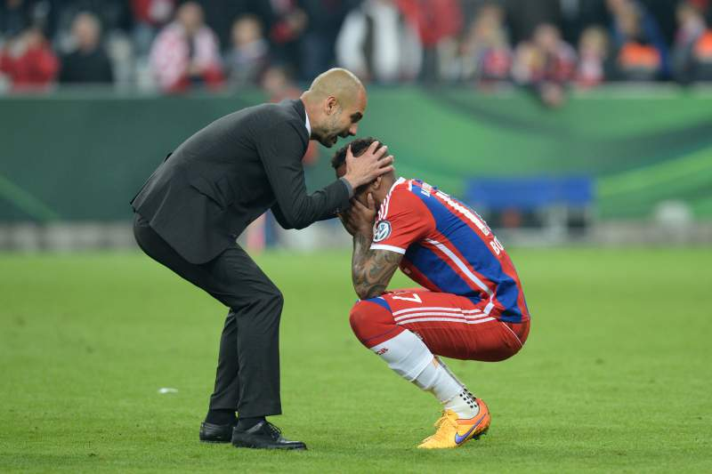 Guardiola e Boateng