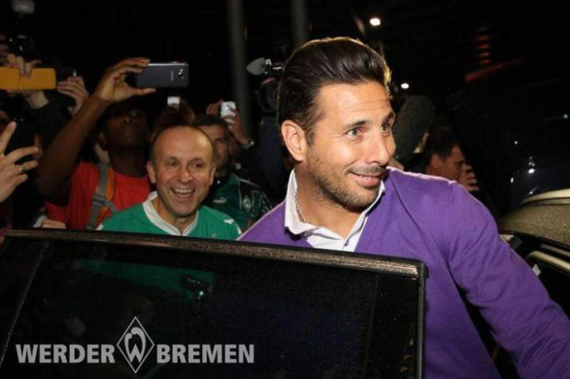 Pizarro de regresso ao Werder Bremen