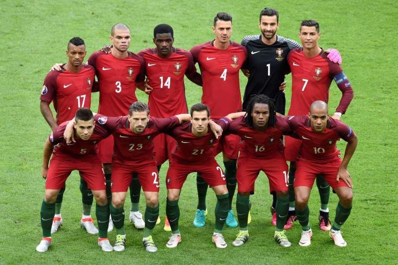Equipa titular de Portugal na final do Euro2016