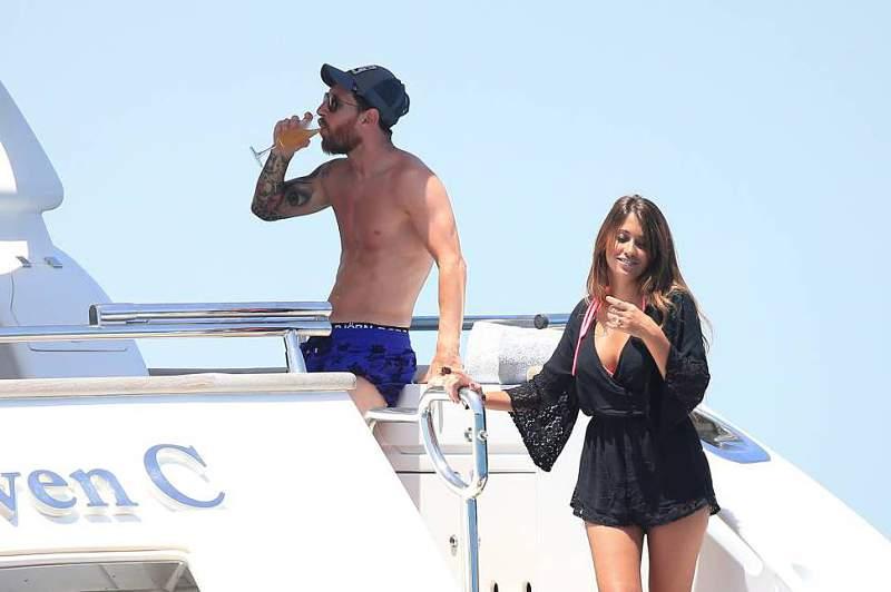 Lionel Messi em Ibiza