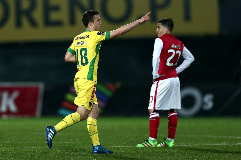 Diogo Jota marca golo do Paços ao SC Braga