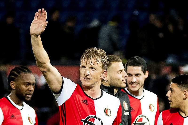 Dirk Kuyt, capitão do Feyenoord