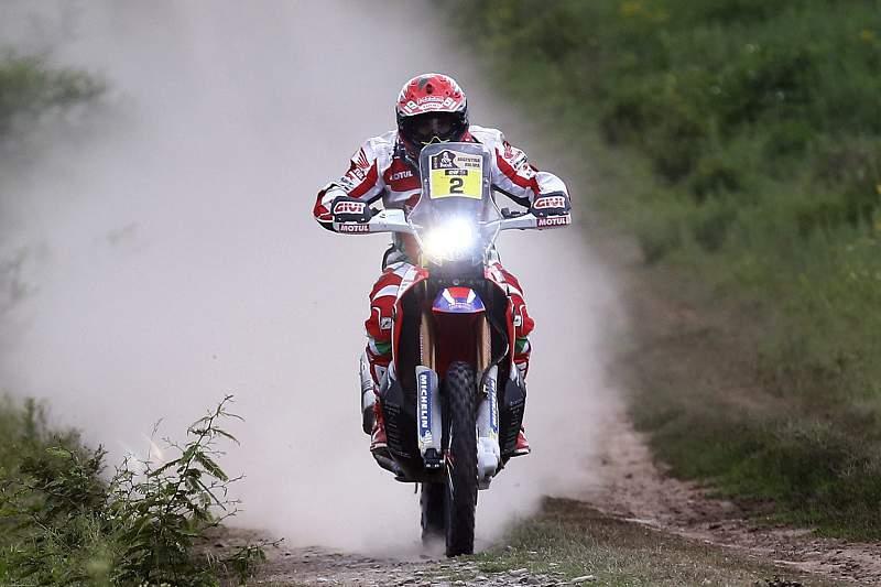 Paulo Gonçalves em ação no Rally Dakar 2016. FELIPE TRUEBA/LUSA
