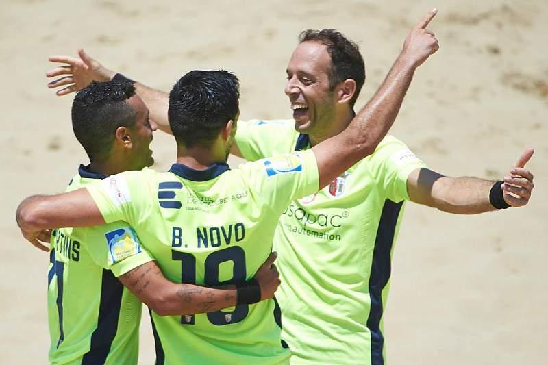 Braga nos quartos-de-final da Euro Winners Cup de futebol de praia