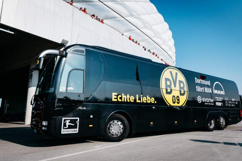 Borussia Dortmund autocarro