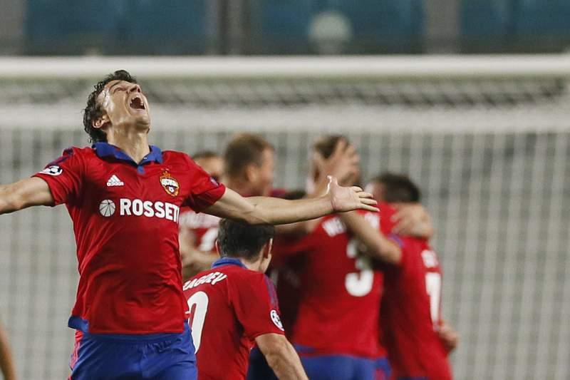 CSKA campeão na Rússia