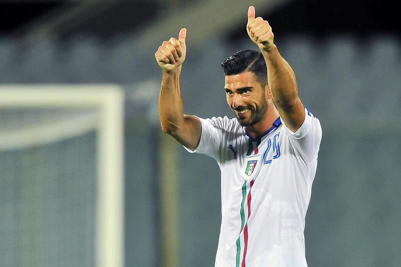 Pellè marcou o único golo para a Itália
