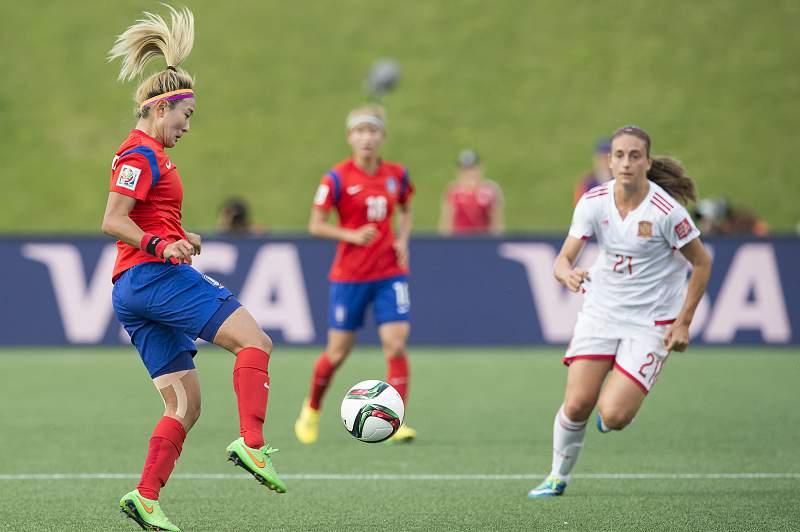 Coreia do Sul e Suécia completam 'oitavos' do Mundial de futebol feminino