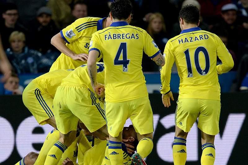 Chelsea festeja golo