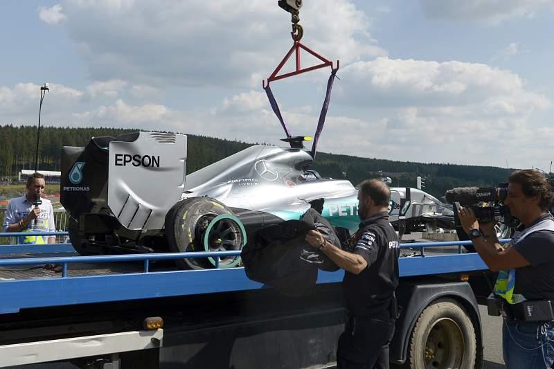 Carro de Rosberg