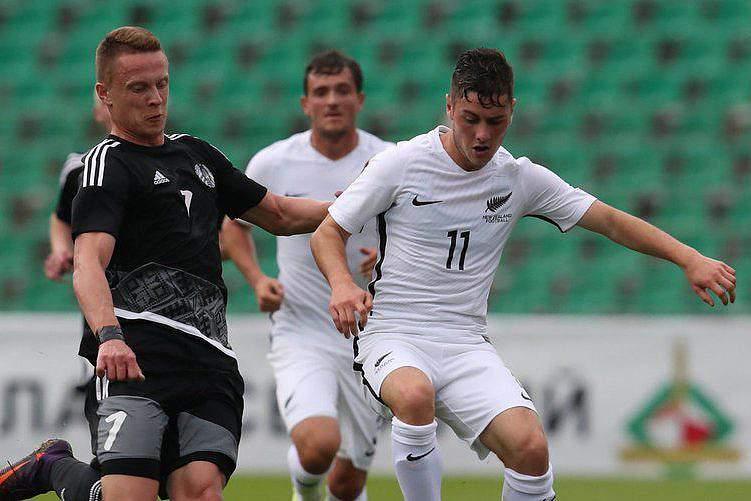 Nova Zelândia perde na Bielorrússia em jogo particular