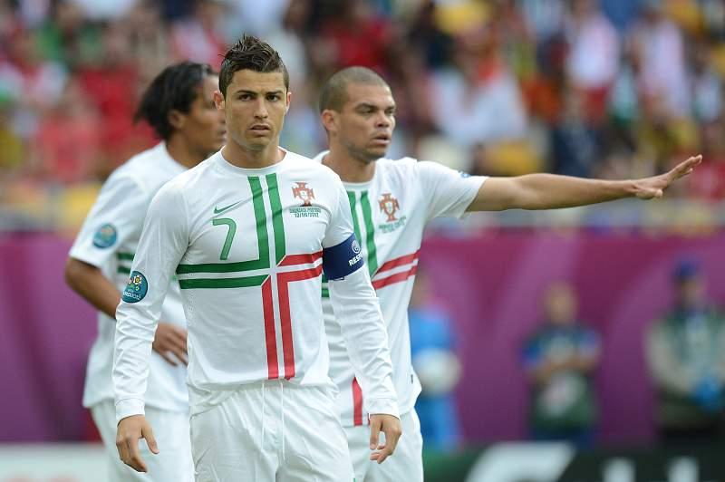 Ronaldo e Pepe