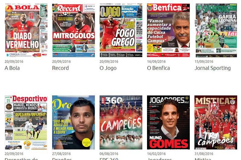Revista de Imprensa de 20-09-2016