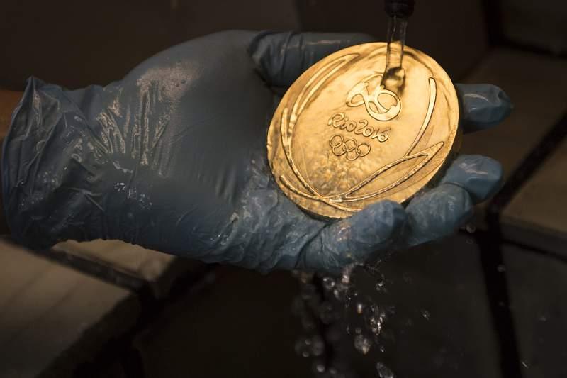 Medalha de ouro Rio2016