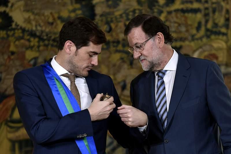 Casillas recebeu Grã-Cruz da Ordem Real de Mérito Desportivo