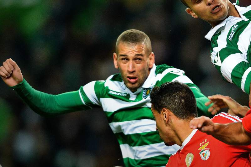 Slimani num Benfica-Sporting