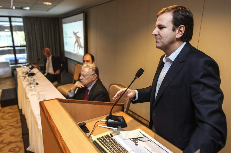 Olympic Games Rio 2016 are 57 percent financed by private sector, says Rio Mayor, Eduardo Paes