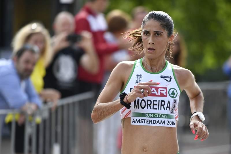 Sara Moreira campeã da Europa da meia-maratona em ano de estreia