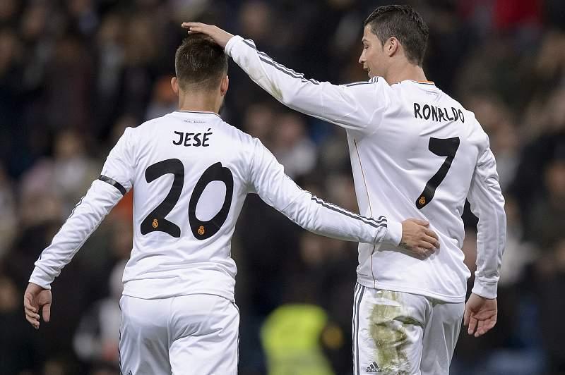 Jesé e Ronaldo