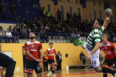 O Sporting foi eliminado da EHF Cup pelos dinamarqueses do Tvis Holstebroo