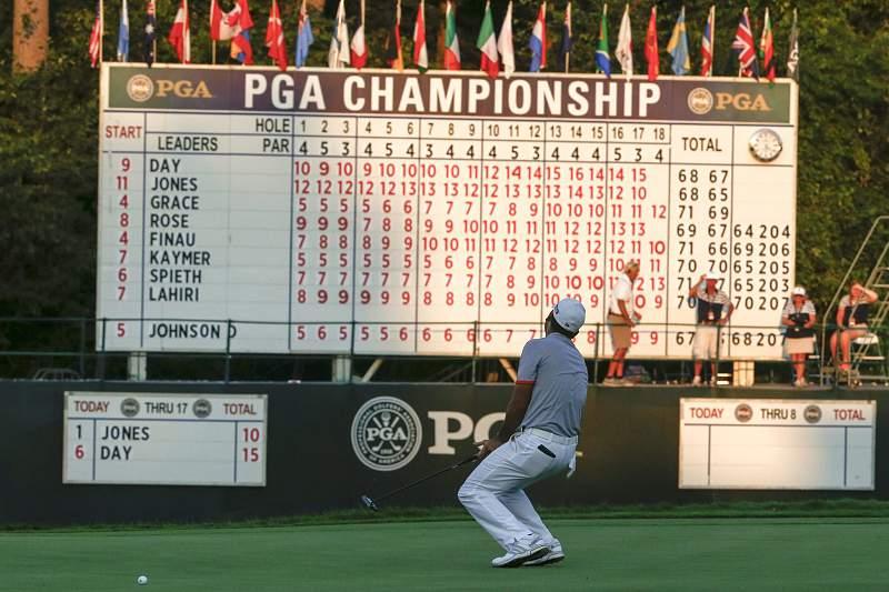 PGA Championship golf tournament in Kohler, Wisconsin, USA