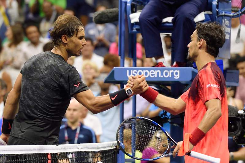 Rafael Nadal e Fabio Fognini